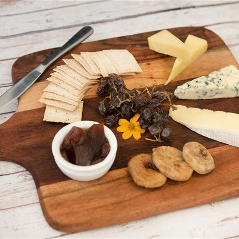 Cheese board for two